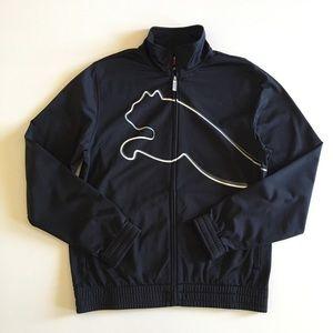 Puma Big Logo Black Jacket Men's Small